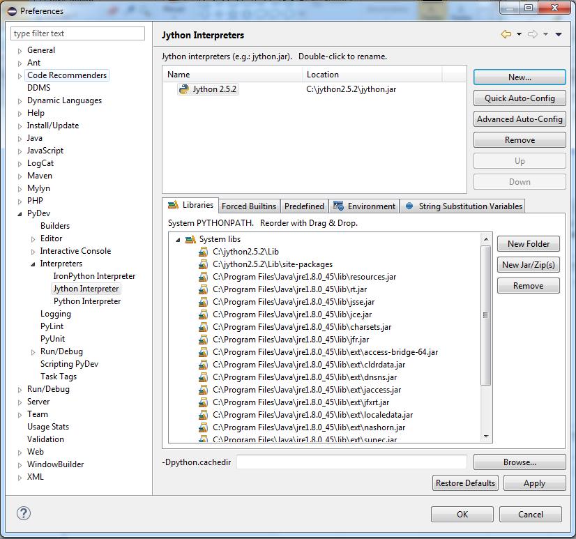 Eclipse – Maximo & ICD Script Development